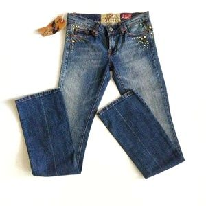 NWT 7 For All Mankind GREAT WALL OF CHINA Jeans